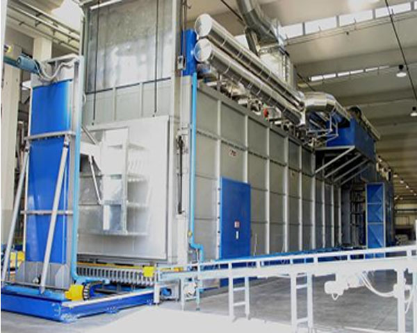 Stepless basketless continuous heat treatment furnace